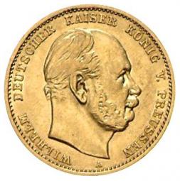 10 Mark Preussen Wilhelm I
