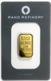 Goldbarren 10 Gramm Rand Refinery