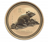 Jahr der Ratte 1 Unze Lunar I
