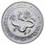 1 Unze Silber Green Dragon 2019 - Celestial Animals
