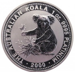 Platin Koala 1 Unze