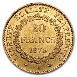 20 Francs Genius