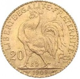 20 Francs Hahn