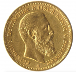 20 Mark Preussen Friedrich III.