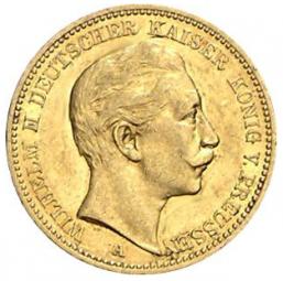 20 Mark Preussen Wilhelm II / 50 Stück