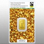 Goldbarren 2 Gramm Fairtrade