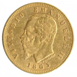 5 Lire Vittorio Emanuele II.