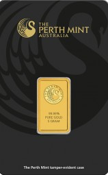 Goldbarren 5 Gramm Perth Mint