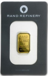 Goldbarren 5 Gramm Rand Refinery