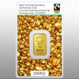 Goldbarren 5 Gramm Fairtrade
