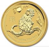 Jahr des Affen 1/4 Unze 2016