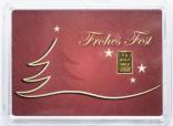 """1 Gramm Geschenkbarren """"Weihnachten"""""""