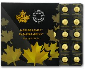 25 x 1 Maplegramm