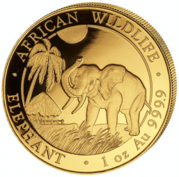 Somalia Elefant 1 Unze