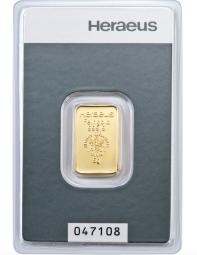 Goldbarren 5 Gramm Feingold