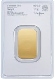 Goldbarren 10 Gramm Feingold