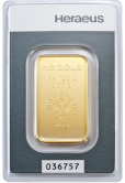 Goldbarren 20 Gramm Feingold