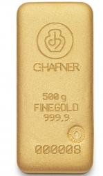 500 Gramm Feingold C.Hafner
