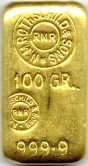 100 Gramm Goldbarren Rothschild