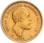 10 Kronen Oskar II.