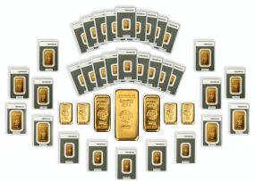 Investorenpaket Feingoldbarren