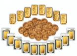 Investorenpaket Barren und Münzen