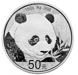 50 Yuan Panda 150 Gramm 2018 PP