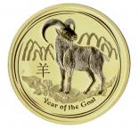 Jahr der Ziege 2 Unzen 2015 Lunar II