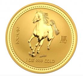 Jahr des Pferd 1 Unze 2002 Lunar I