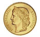 20 Franken Helvetia