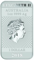 Münzbarren Drache 1 Unze / 200 Stück