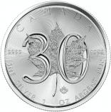 Maple Leaf 30 Jahre 1 Unze / 25 Stück