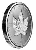 Maple Leaf Incuse 1 Unze / 500 Stück