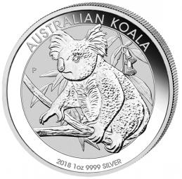 Koala 1 Unze 2018