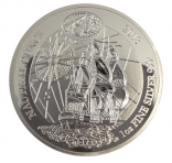 HMS Endeavour 2018 1 Unze Nautical Ounce Polierte Platte + Box + COA