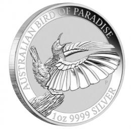 Bird of Paradise 1 Unze 2018