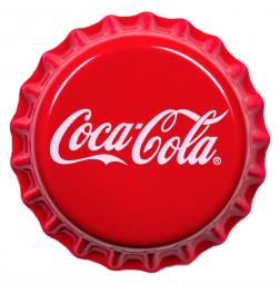 1 $ Coca-Cola Fiji Kronkorken
