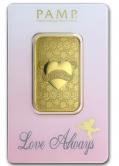 Goldbarren 1 Unze Love Always PAMP