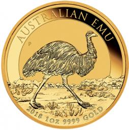 100 $ Australian Emu 2018
