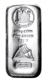 Münzbarren 500 Gramm Fiji