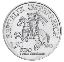 825 Jahre Münze Österreich Leopold V. 1 Unze