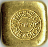 50 Gramm Goldbarren Rothschild