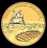 50 Jahre Mondlandung 1 Unze 2019