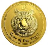 Jahr des Tigers 1 Unze Lunar II 2010