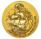 Nautical Ounce Victoria 2019 1 Unze Gold