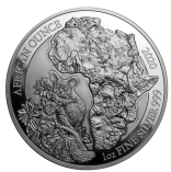 African Ounce Bushbaby 1 Unze Polierte Platte 2020