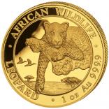 Somalia Leopard 2020 1 Unze Au