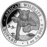 Somalia Leopard 2020 1 Unze Ag