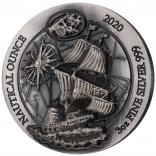 Nautical Ounce Mayflower 2020 3 Unzen High Relief