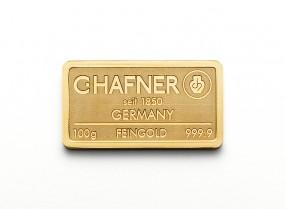 100 Gramm Feingold C.Hafner